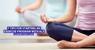 exercise program with als