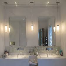 Hanging Bathroom Lights Bathroom Hanging Lights Layjao