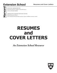 Harvard Extension School Resume Resume For Study