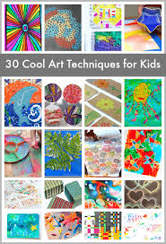 30 Super Cool Art Techniques for <b>Kids</b> - Buggy and Buddy