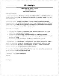 Insurance Resume Cover Letter Resume For Your Job Application