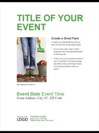 how to make a good flyer for your business small business flyer green design