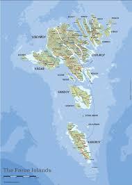 faroe islands map  map of faroe islands  where are the faroe