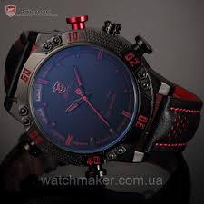 Мужские <b>Часы SHARK SH261</b> LED Digital Red Date Day — в ...