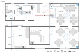 Sample Restaurant Floor Plans Example