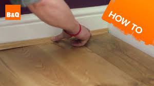 B And Q Kitchen Flooring How To Lay Flooring Part 5 Finishing Touches Maintenance Youtube