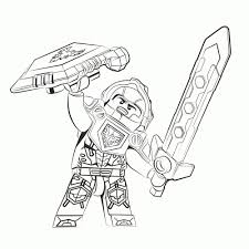Cpfk Lego Nexo Knights Ridder Clay Free Printables Lego