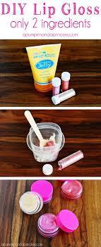 homemade lip gloss only 2 ings
