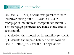 example amortization
