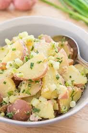 red potato salad how to make potato