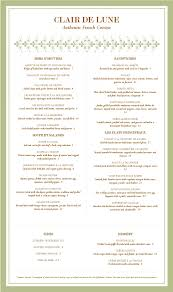 french menu template french cafe menu template 4 professional samples templates