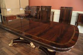 extra large mahogany dining room table seats 14 16 people