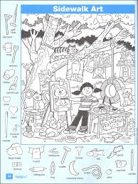 Small Picture Hidden Pictures Printables For Teachers From Highlights Washing