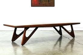 surprising adrian pearsall coffee table boomerang style wooden furniture