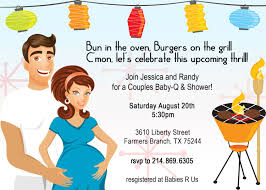 Baby Shower Couples Baby Shower Invitations Card Invitation