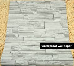 Small Picture beibehang Modern style 3D wallpaper stone brick design background