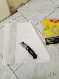 grouted vinyl floor tile tutorial diyshowoff