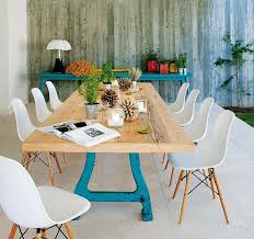 view in gallery country tables with contemporary dining chairs 1 combining country dining tables with modern chairs is trendy