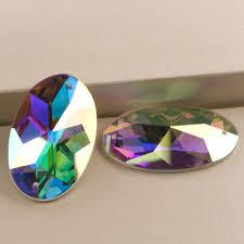 2052TH AB Flatback Glass Beautiful Strass Sew On Rhinestone ...