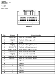 ford crown victoria stereo & radio installation tidbits 2002 lincoln town car radio wiring diagram at 2001 Lincoln Town Car Wiring Diagram