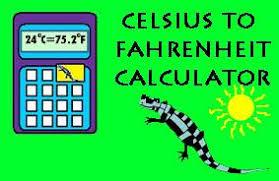 Celsius To Fahrenheit Chart Calculator Celsius To Fahrenheit Calculator