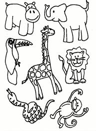 Giraf Kleurplaat