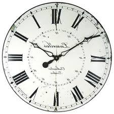 White Kitchen Wall Clocks Astonishing Kitchen Wall Clock Pbh Architect