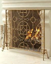 diy fireplace screen. Diy Fireplace Screen Living In The Gold Screens Mesh Curtain