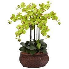 Silk Arrangements For Home Decor Home Decoration Best Fake Floral Arrangements Photo Fantastic