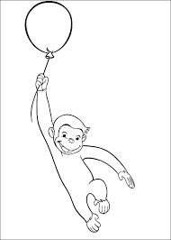 Free Curious George Coloring Pages For Kids Technosamrat Free