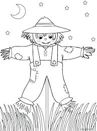 free printable scarecrow coloring pages scarecrow coloring pages girl scarecrow coloring pages scarecrow coloring pages free