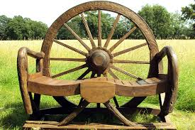 Garden wagon lowes Garden bench wagon wheel