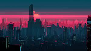 Neon City [2560x1440]: wallpaper