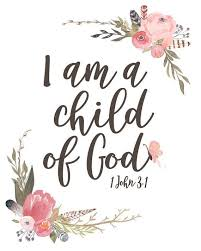 Bible Quotes About Children Enchanting I Am A Child Of God Girl's Version Lettered Print Grow Closer