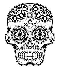 Small Picture 50 best sugar skull coloring pages print images on Pinterest