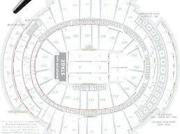 Msg Concert Chart Knicks Seating Chart With Seat Numbers Seating Chart