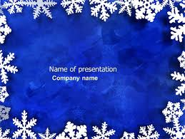 Winter Powerpoint Winter Theme Free Presentation Template For Google Slides