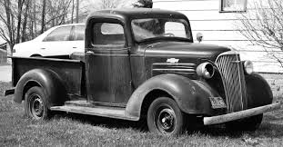 42N Observations: Glancing Potential of a 1937 Chevy Pickup Truck