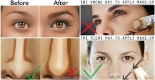the proper way to apply makeup