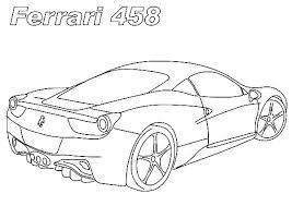 Absolutely Design Coloring Pages Ferrari 842 Logo Cars Laferrari