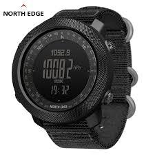 <b>NORTH EDGE APACHE</b> Men's sport Digital watch Hours Running ...