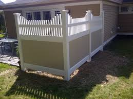 Contemporary Vinyl Privacy Fence Ideas Hot Tub In Design