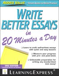 write better essays in minutes a day details rainbow  write better essays in 20 minutes a day main photo cover