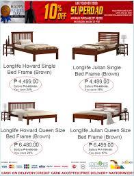 Home Furniture  Bed Frame Fatheru0027s Day Sale