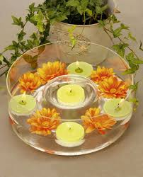 Glass Bowl Decoration Ideas 60 table decorating ideas with candles Light your home and garden 9