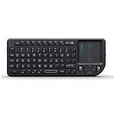 Rii <b>Mini</b> K01X1 2.4GHz <b>Mini Wireless</b> Keyboard (Built-in TouchPad ...