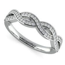 infinity diamond wedding band. infinity diamond wedding band l