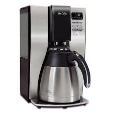 mr coffee optimal brew 10 cup programmable coffee maker with thermal carafe