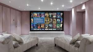 Home Theater System Design Our Bespoke Home Cinema System In Manchester Called Pretty