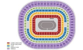 The Dome Seating Chart The Dome St Louis Missouri